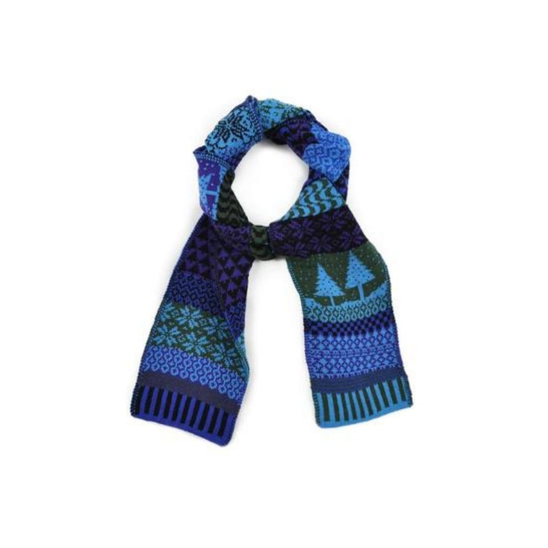 Blue Spruce Cotton Scarf Blue