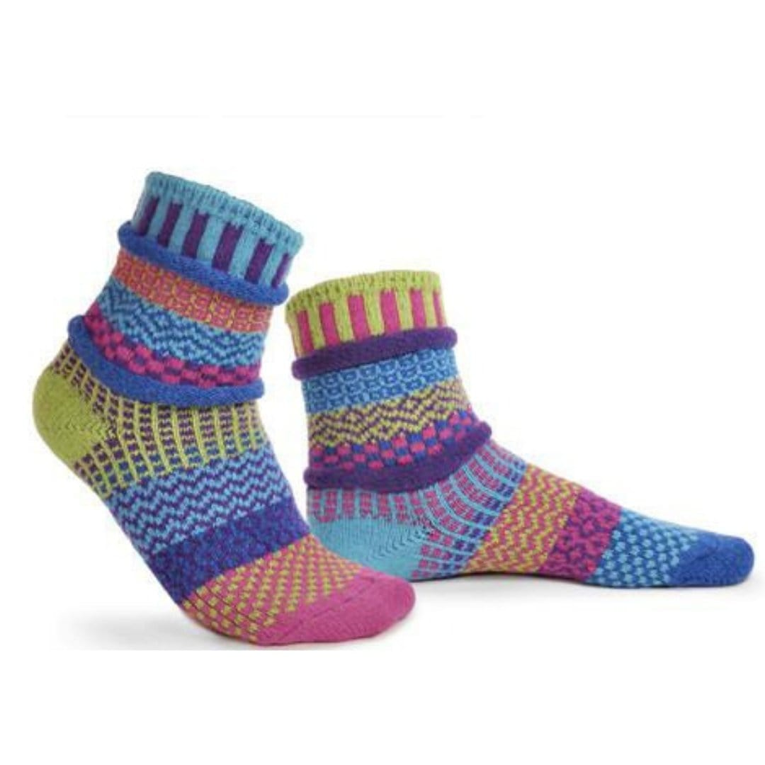 Bluebell Cotton Crew Socks