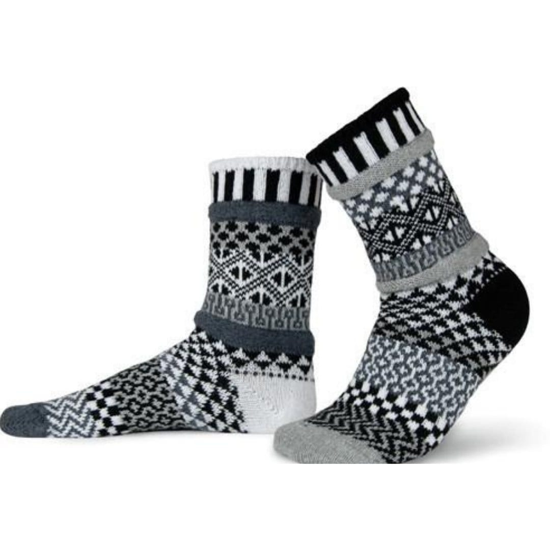 Midnight Cotton Crew Socks