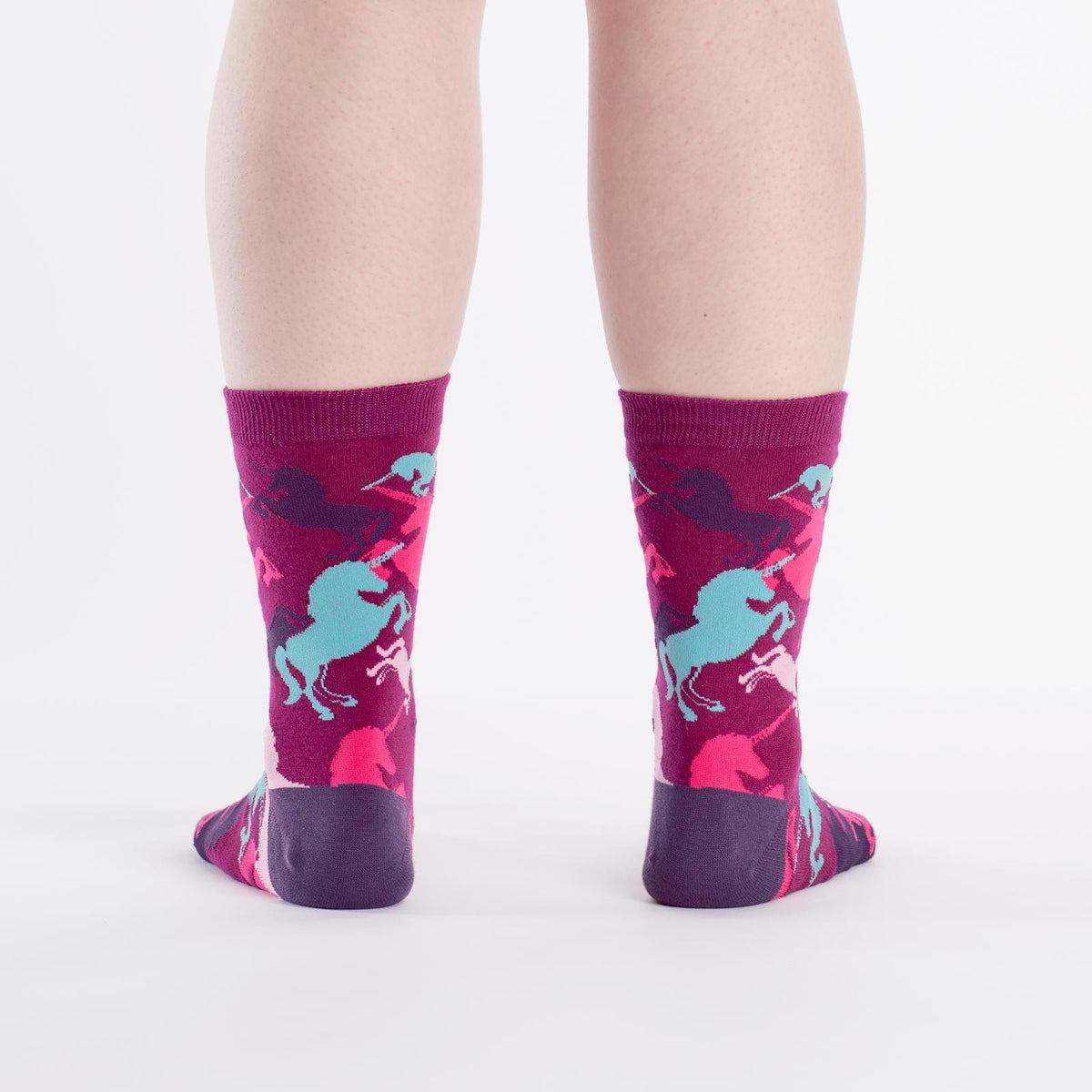 Mythical Unicorn Socks rear