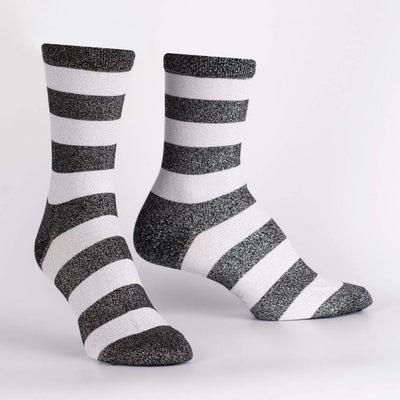 Puttin' On The Glitz Crew Socks Women's Crew Sock