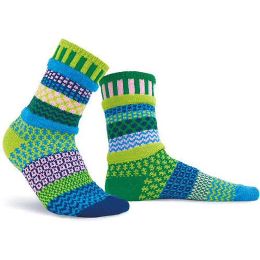 Water Lily Cotton Crew Socks