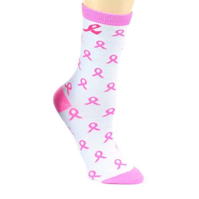 Breast Cancer Awareness Socks Women's Crew Sock
