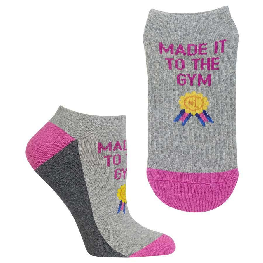 Made It To The Gym Women's Ankle Socks Grey