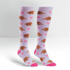 Hedgehog Heaven Knee-High Socks