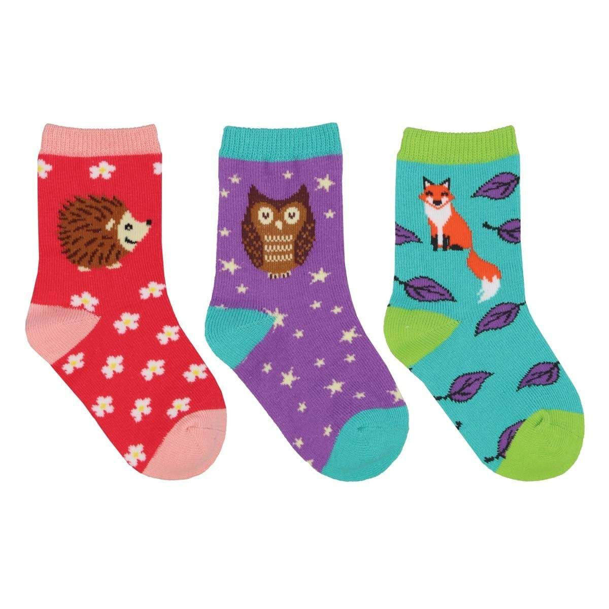 Woods You Be My Friend Crew Sock 3 Pack Multi