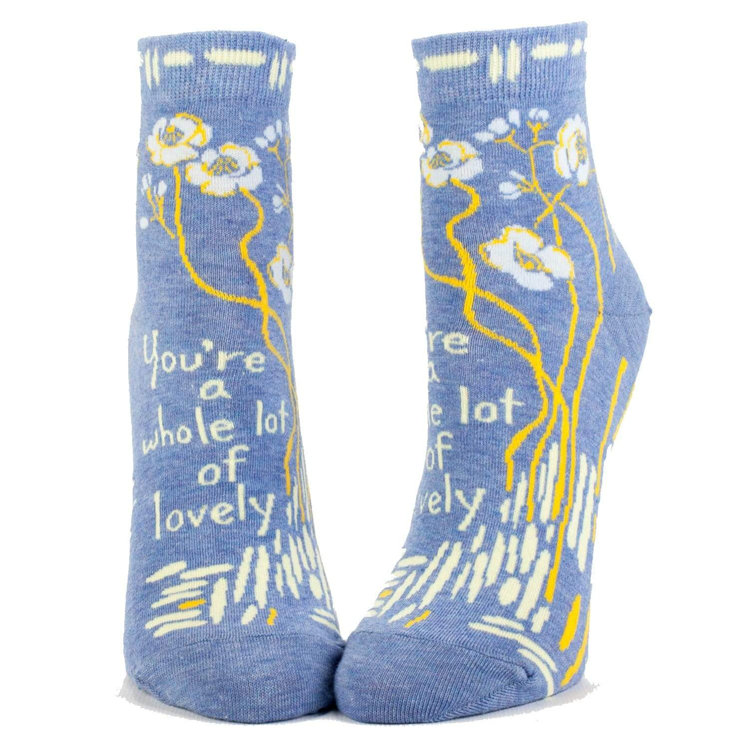 You're a Whole Lot of Lovely Socks - Ankle Socks for Women