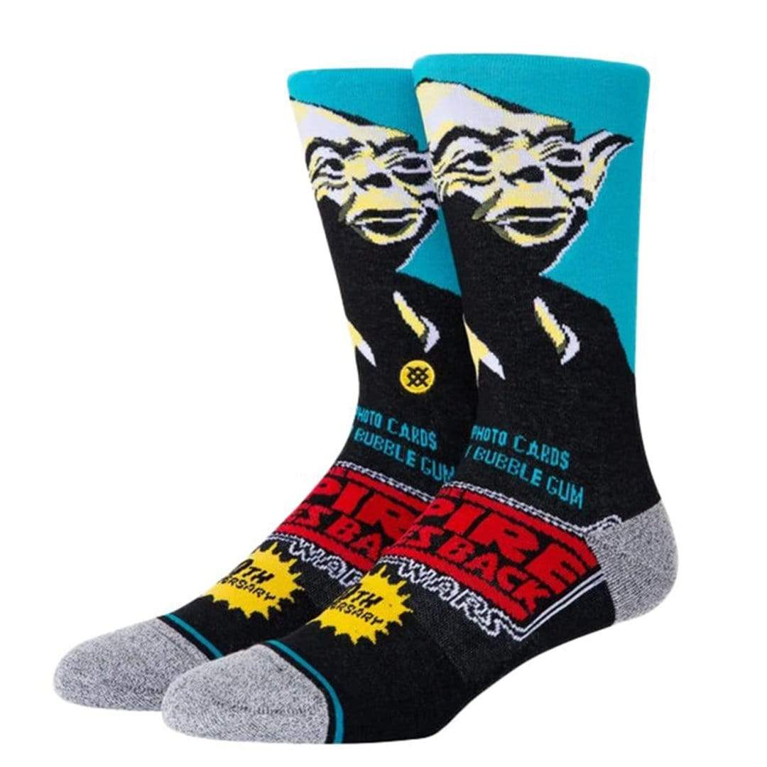 Yoda 40th Men's Crew Sock Blue