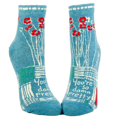 You're So Damn Pretty Socks - Ankle Socks for Women