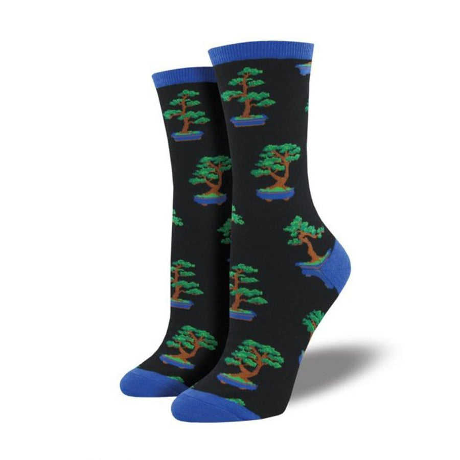 Zen Bonsai Crew Socks for Women