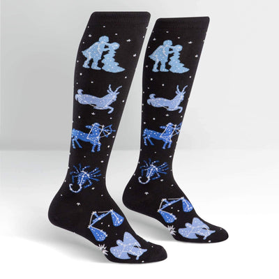 Zodiac Socks - Knee High for Women