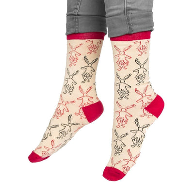 Alice In Wonderland Socks - Crew Socks