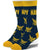 America's Navy Men's Crew Sock Men's / Blue