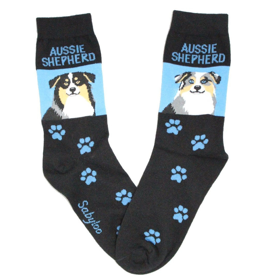 Australian Shepherd Dog Crew Socks