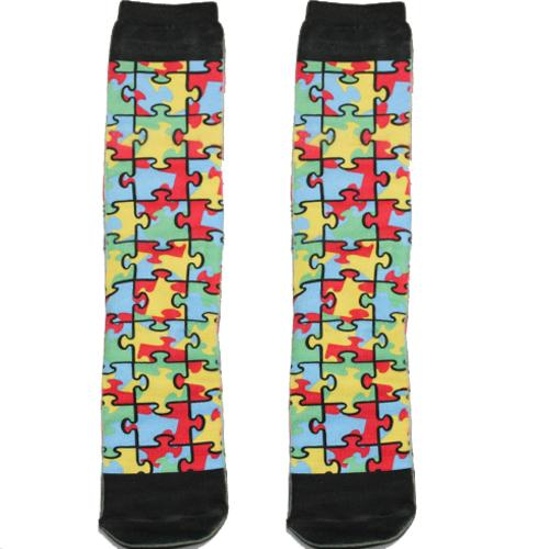 Autism Awareness Knee High Socks