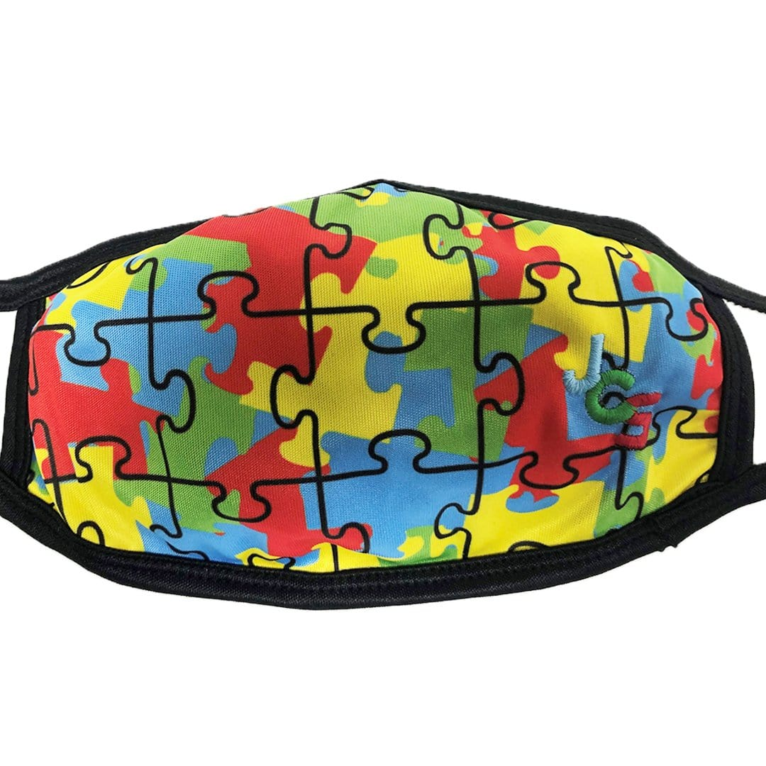 Autism Awareness Face Mask Multi