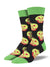 Bad Apple Socks - Men's Crew Socks