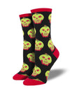Bad Apple Women's Crew Socks