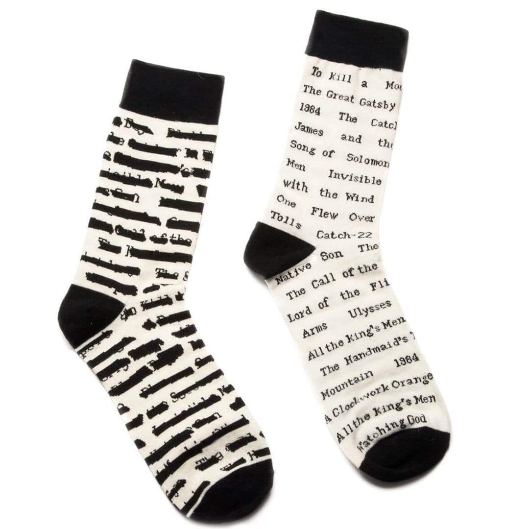 Banned Book Socks - Crew Socks
