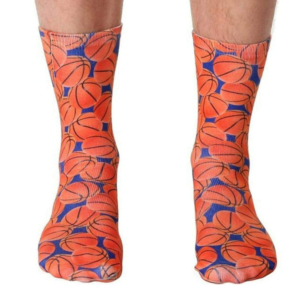Basketball Socks Unisex Crew Sock