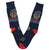 Navy Basketball Socks Men's Crew Sock
