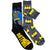 Batman Socks  2 Pack Black / Grey