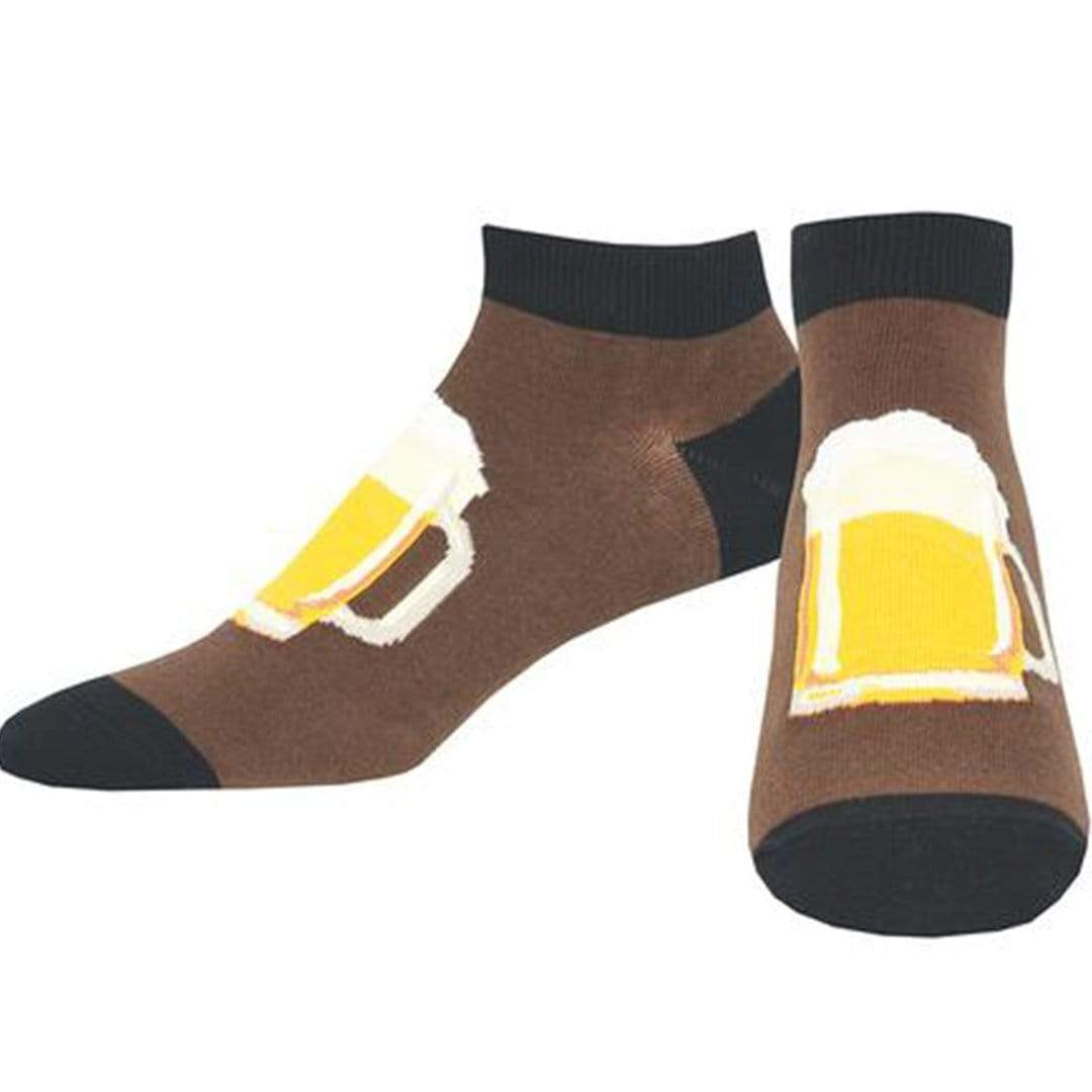 All In Good Stein Socks Men's Ankle Sock Brown