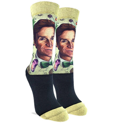 Bill Nye Active Fit Crew Socks for Women