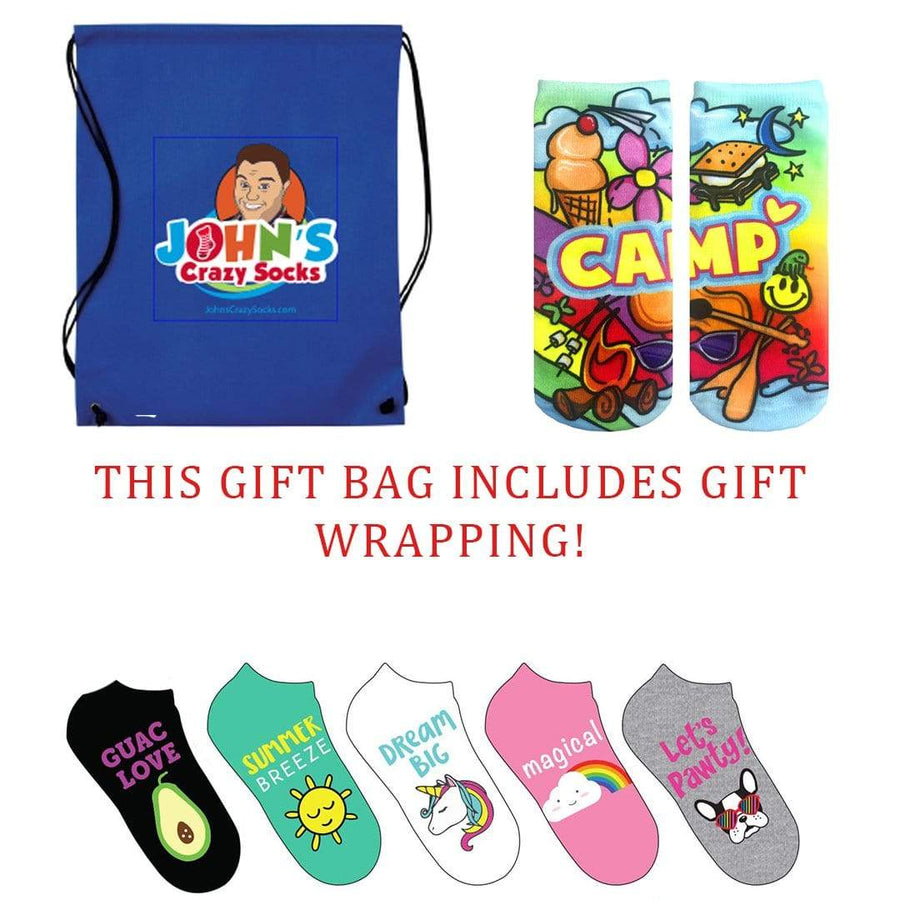 Summer Camp Love Bag Of Socks