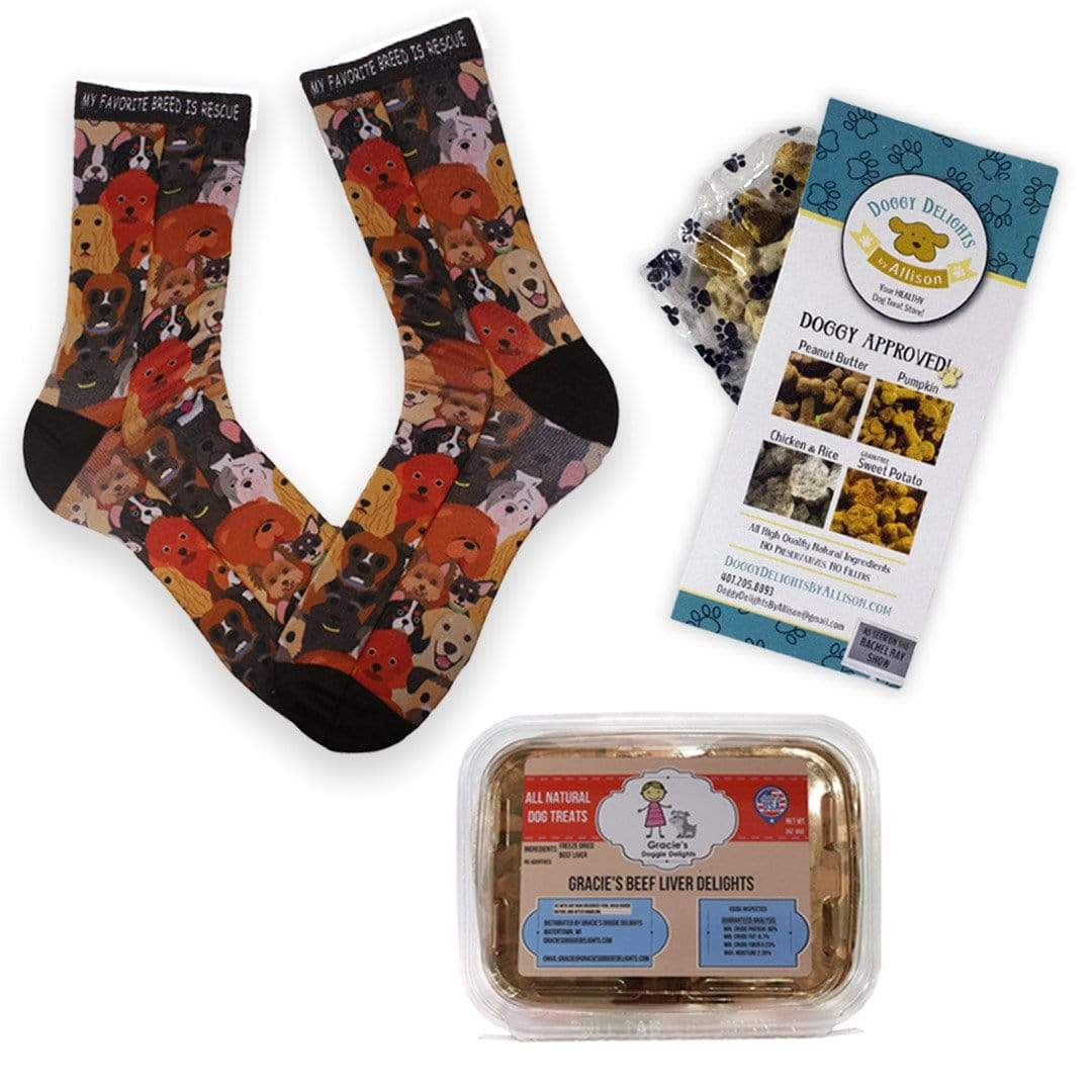 Treats For Your Dog And Your Feet Pack Multi