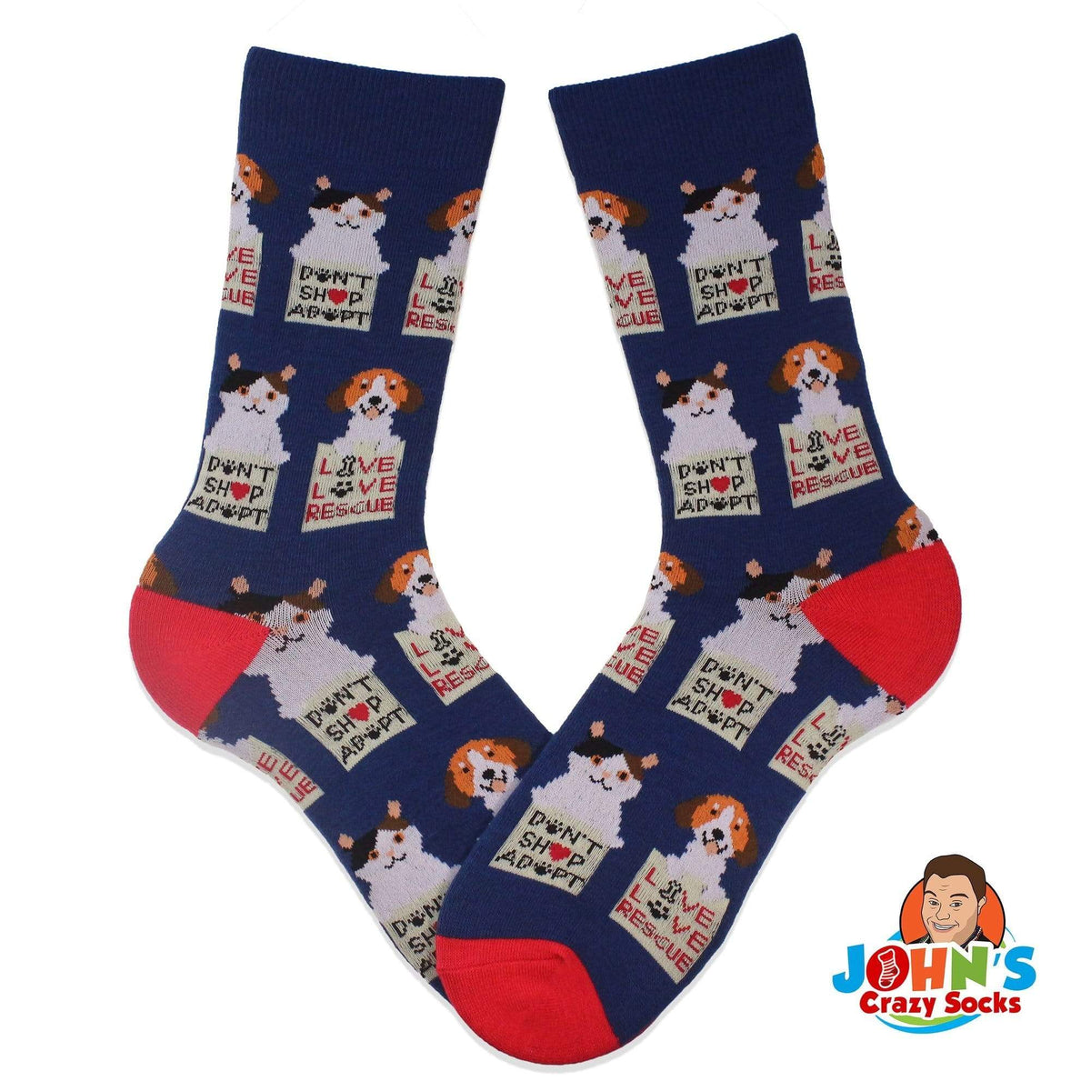 I Love My Pup Animal Rescue Sock Pack