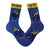 Down Syndrome Superhero Boy Socks Unisex Crew Sock Women / blue