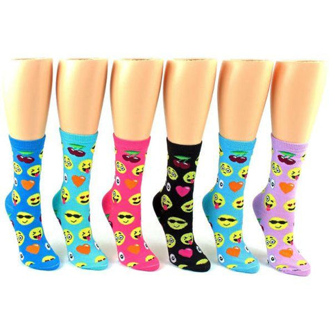 Emoji Socks - Crew Socks for Women