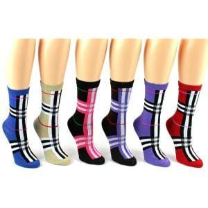 Classic Pattern Socks Women's Crew Sock