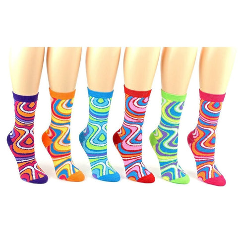 Swirl Patterned Socks