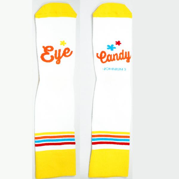 Johnism Eye Candy Unisex Crew Socks