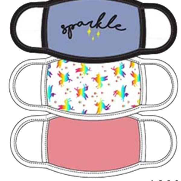 Sparkle Children's Face Mask 3 Pack
