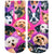 Galaxy Puppy Ankle Socks Pink