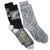 Game of Thrones Winter Is Coming  Crew Sock 2-Pack gray