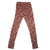 Gingerbread Leggings Small / Burgundy