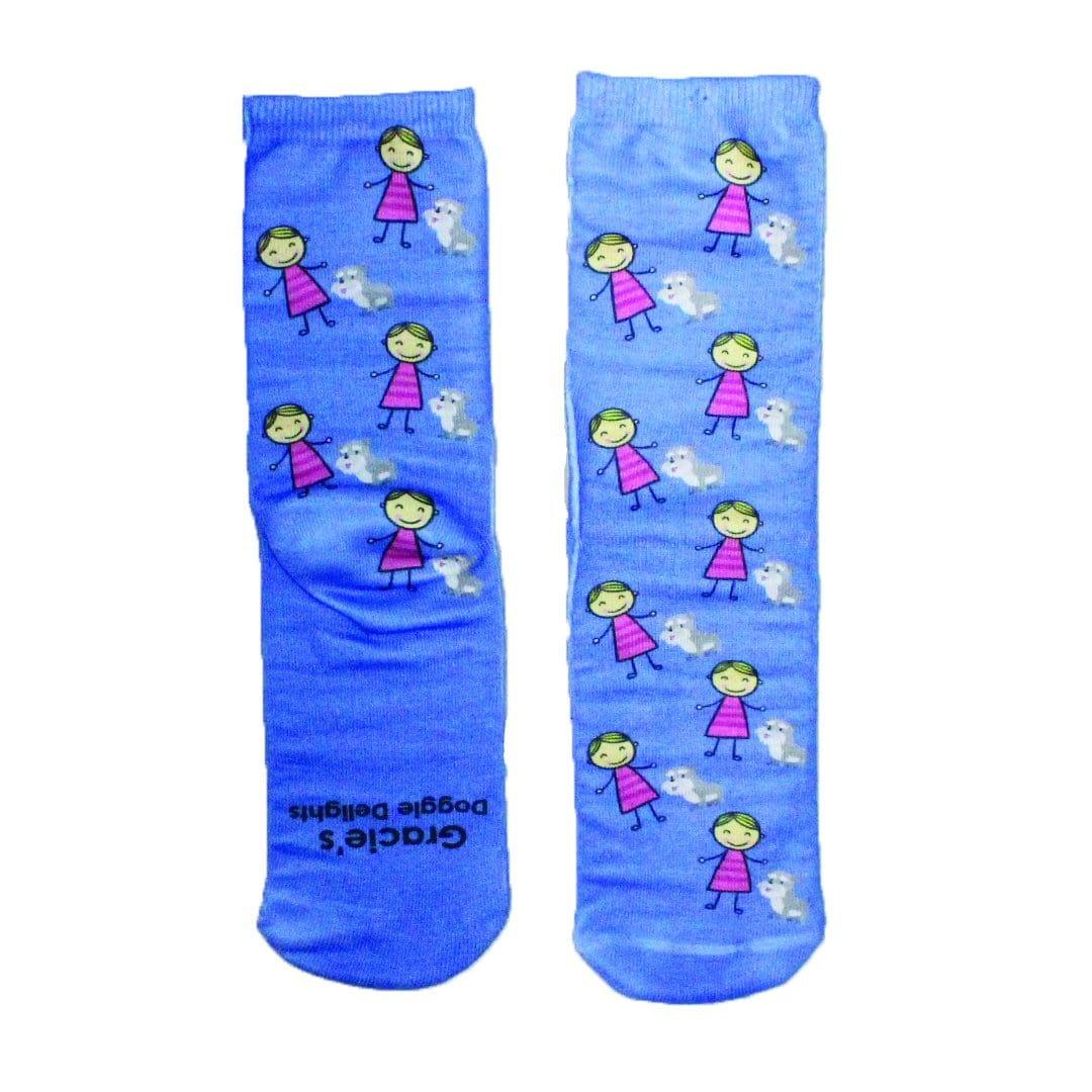 Gracie's Doggie Delights Socks Unisex Crew Sock