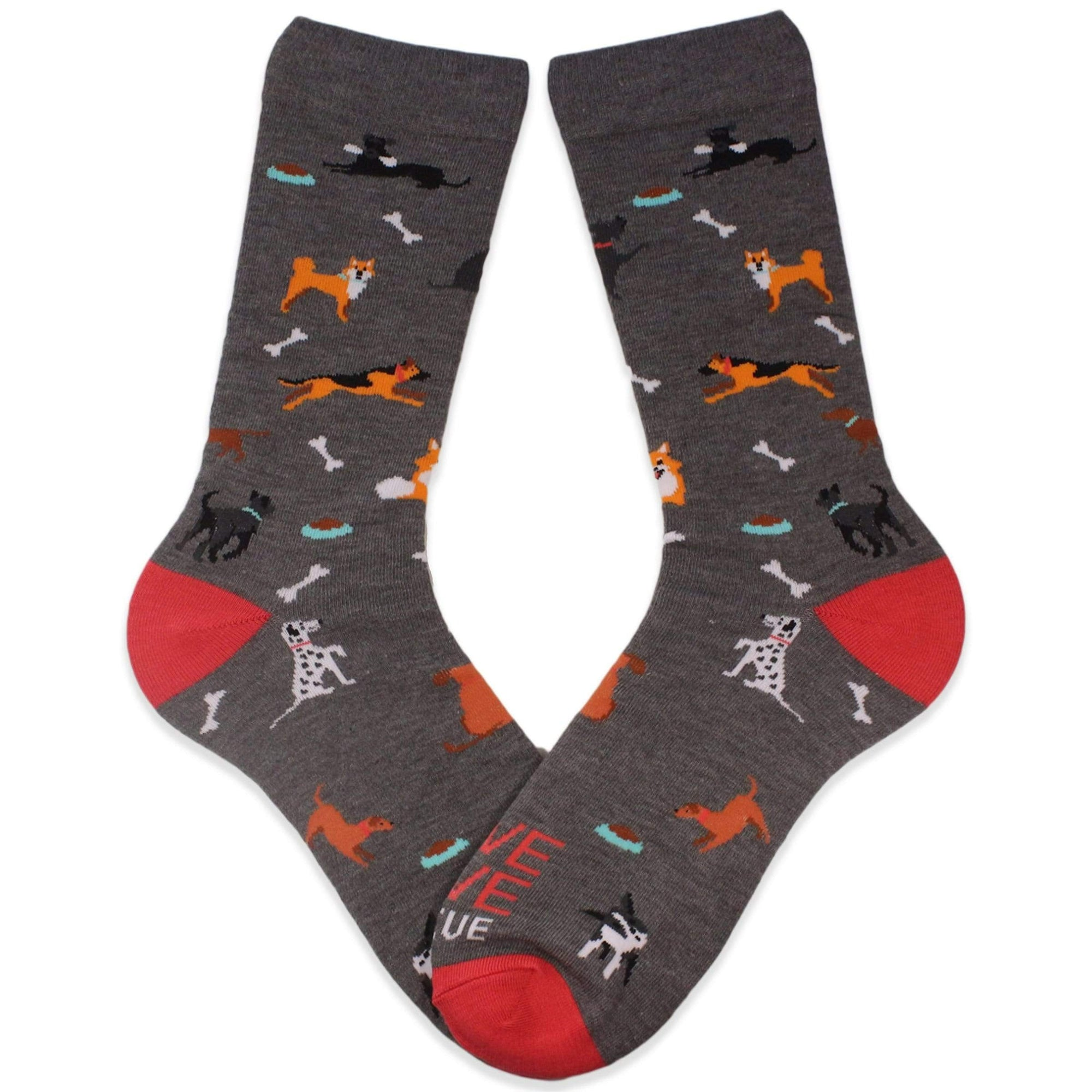Animal Rescue Dog Park Sock Grey / Women's