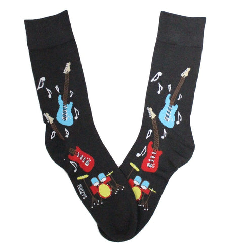 460ec1af26e Rock Band – Men s Crew Socks