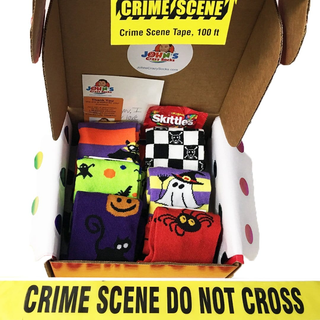 Halloween Box of Socks