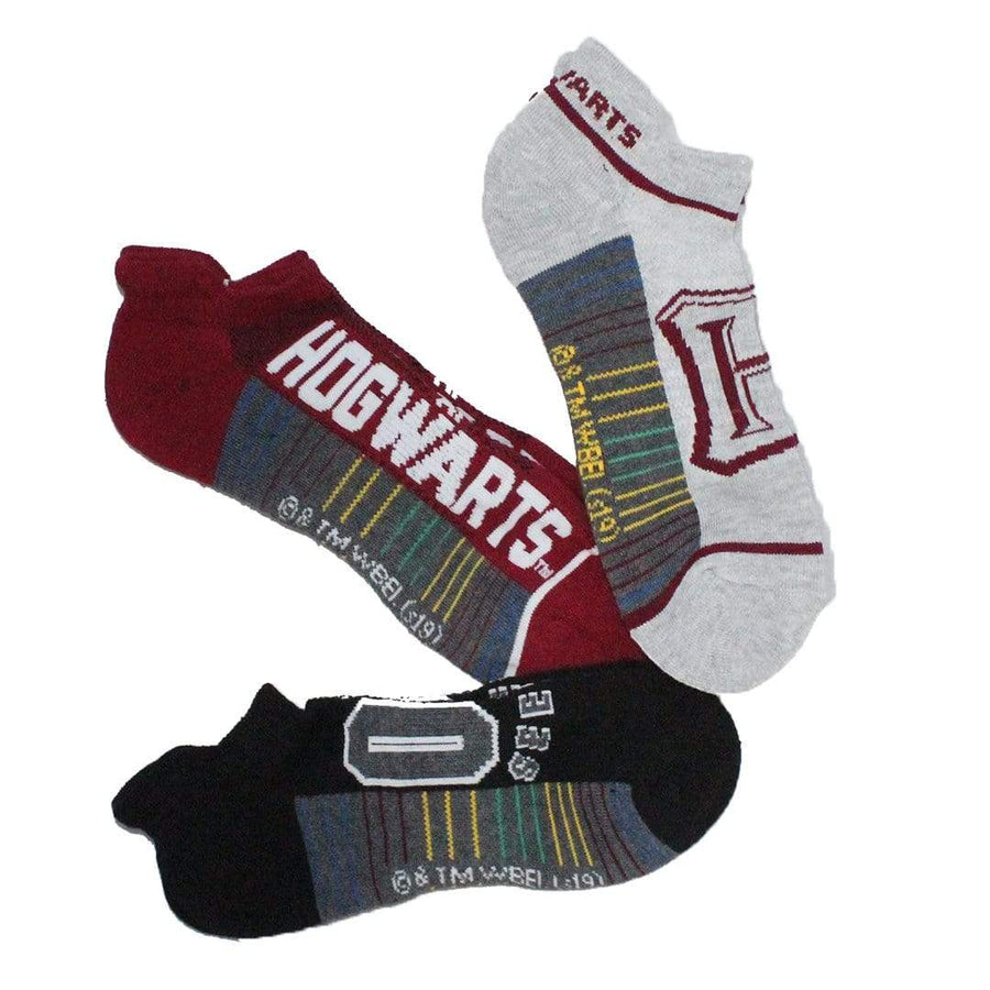 Harry Potter Quidditch – 3 Pack Ankle Socks for Men