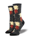 Harvest Corn Women's Crew Socks
