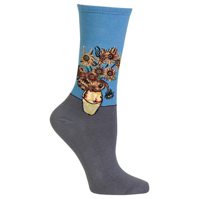 sunflower-socks-crew-socks-for-women