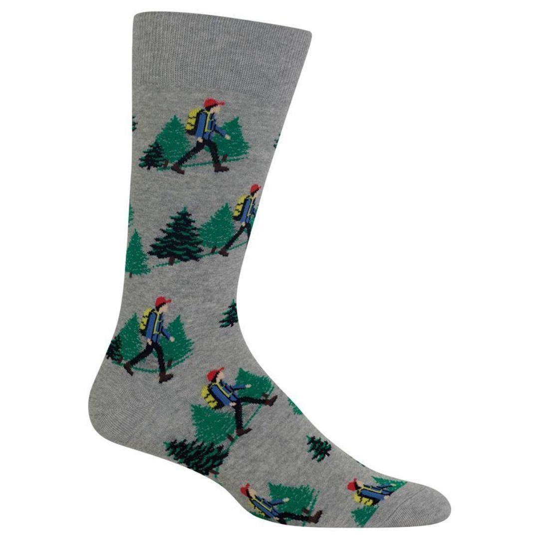 Hiker Socks Men's Crew Sock gray