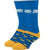 Jeopardy Men's Crew Sock Blue