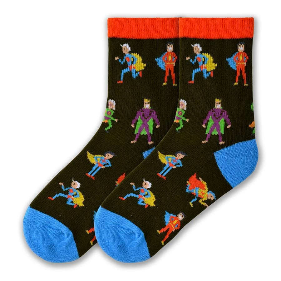 Super Hero Socks